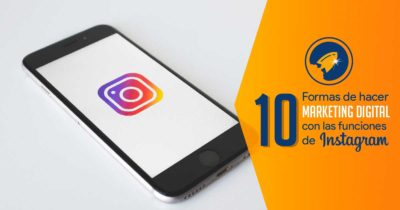 imagen de 10 formas de hacer marketing digital con las funciones de Instagram. More Digital agencia de marketing digital en Bogotá