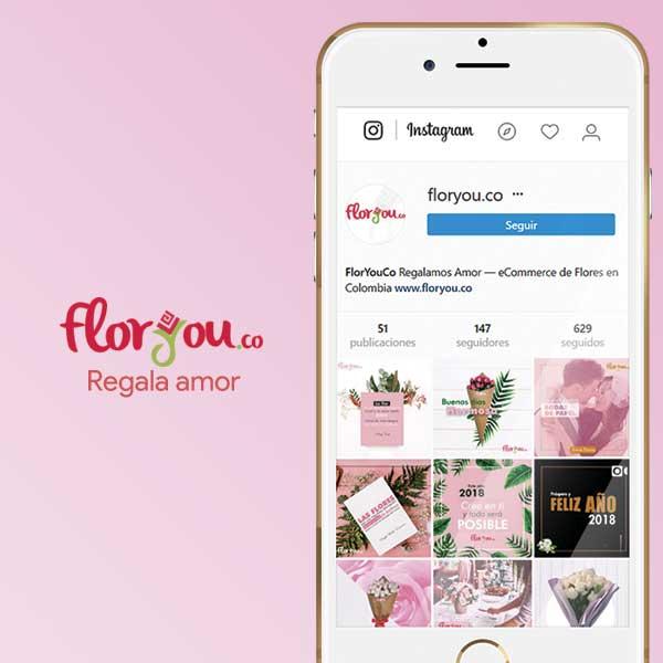 Imagen de Cliente Flor You Colombia. Portafolio agencia de Publicidad y Marketing Digital MoreDigital