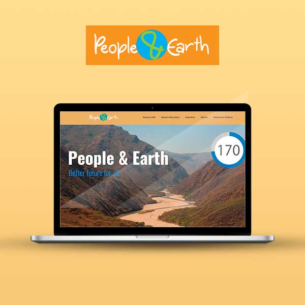 Imagen de Cliente People and Earth. Portafolio Agencia de Publicidad y Marketing Digital MoreDigital