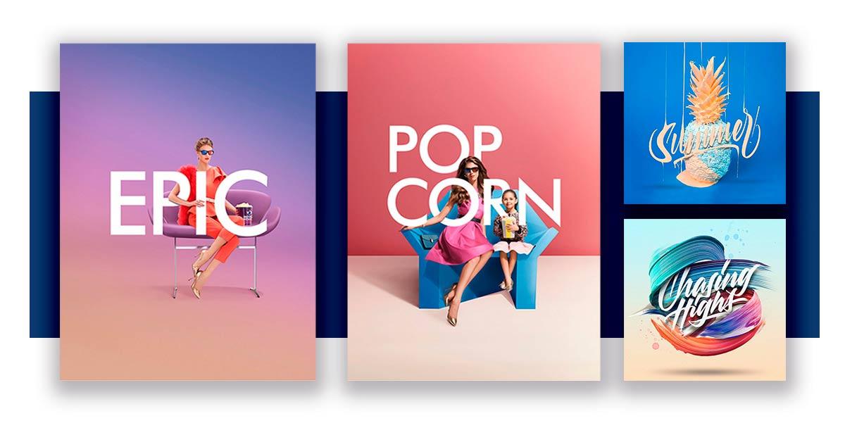 Imagen de Tipografía - Tendencias de diseño - More Digital Marketing y Publicidad digital